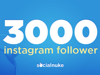add 3000+ instagram followers to your instagram account